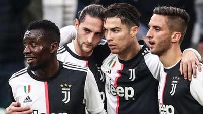 Cristiano Ronaldo Matuidi Rabiot Bentancur - Juventus