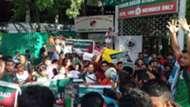 Mohun Bagan protest