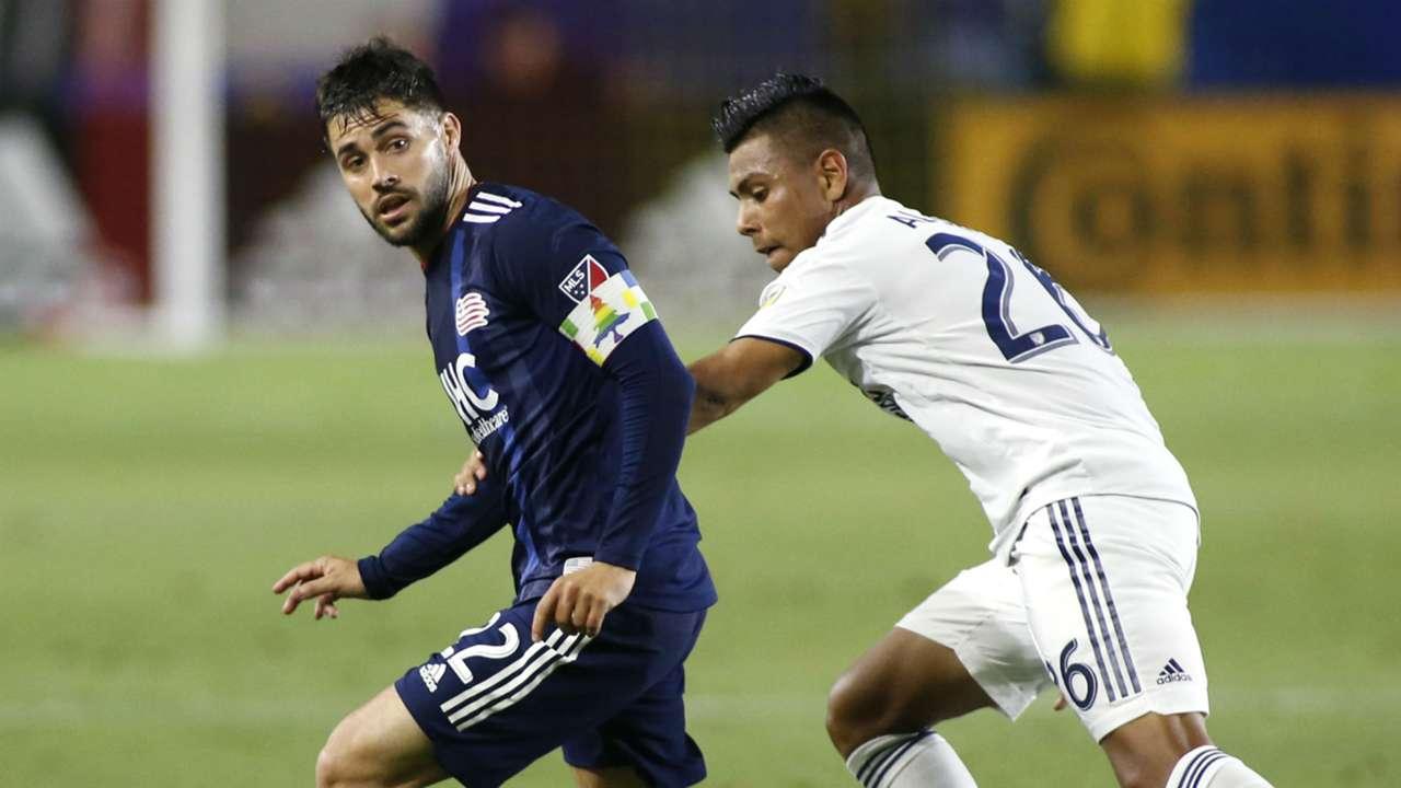 Carles Gil Efrain Alvarez New England Revolution LA Galay MLS 2019