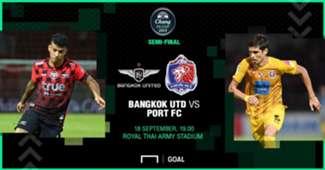 Preview Chang FA Cup : ทรู แบงค็อกฯ - การท่าเรือ เอฟซี (รอบรองชนะเลิศ)