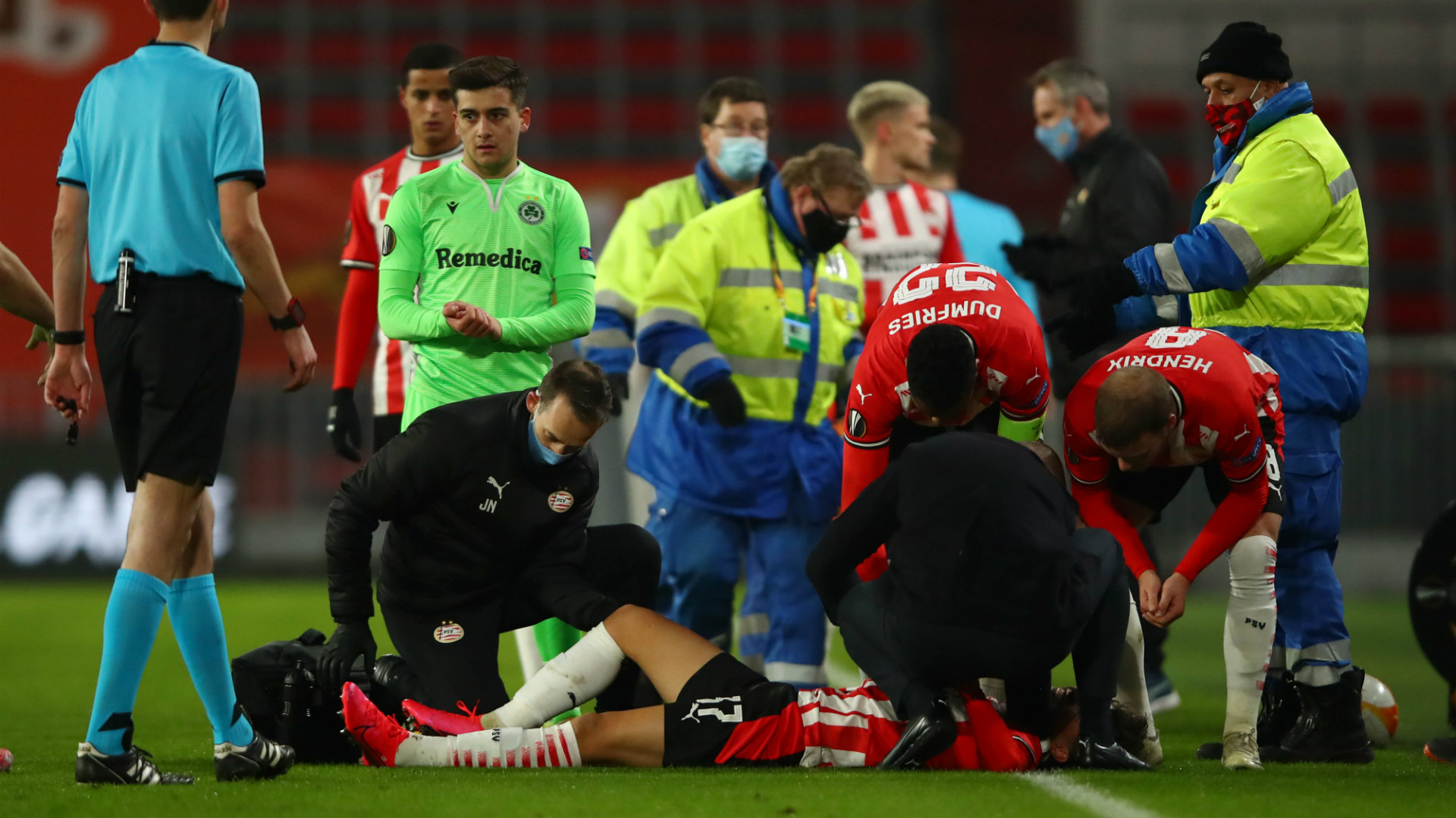 USMNT international Ledezma ruled out for season after PSV midfielder suffers ACL injury