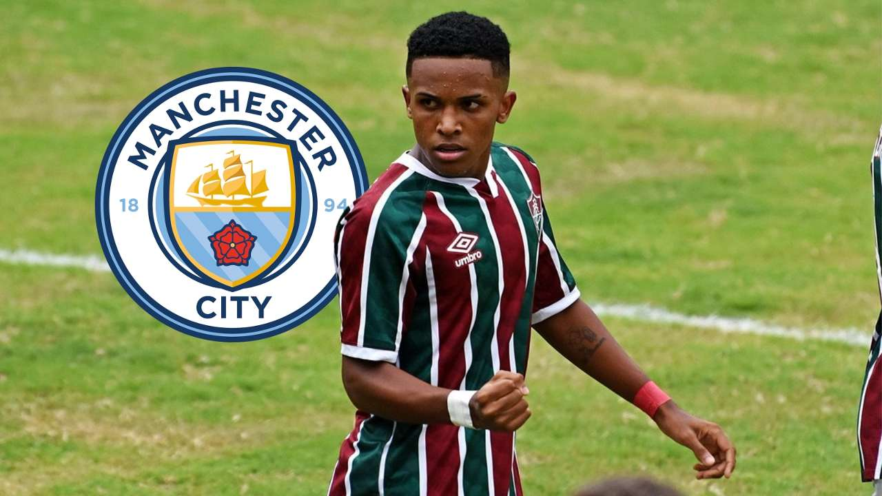 Kayky Fluminense Man City GFX