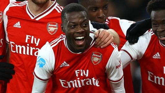 """Arsenal, Lacazette : """"La Premier League va voir le bon Nicolas Pépé""""   Goal.com"""