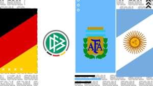 Germania-Argentina tv streaming