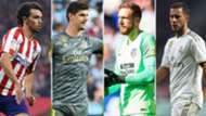 Joao Felix, Courtois, Oblak y Hazard, Atlético de Madrid-Real Madrid