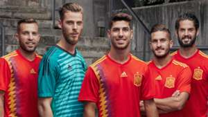 Spain WC shirt poster