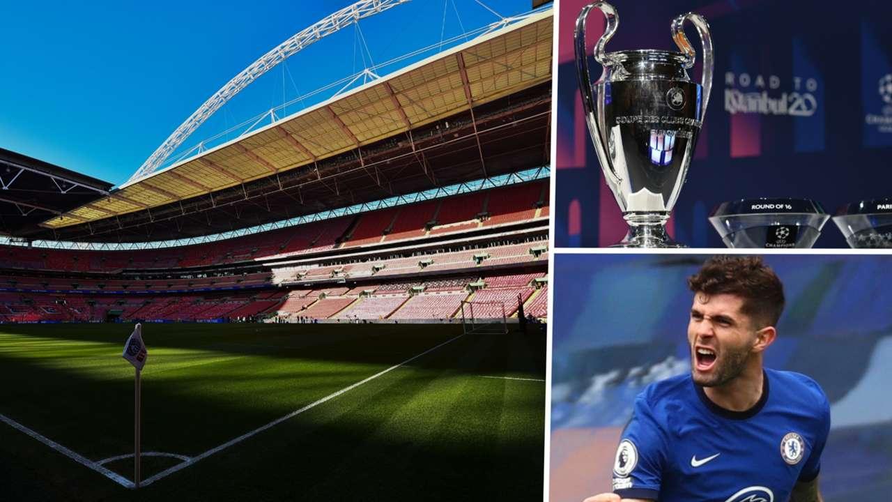 Wembley Champions League Chelsea Christian Pulisic