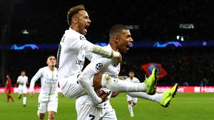 Neymar Kylian Mbappe PSG 2018-19