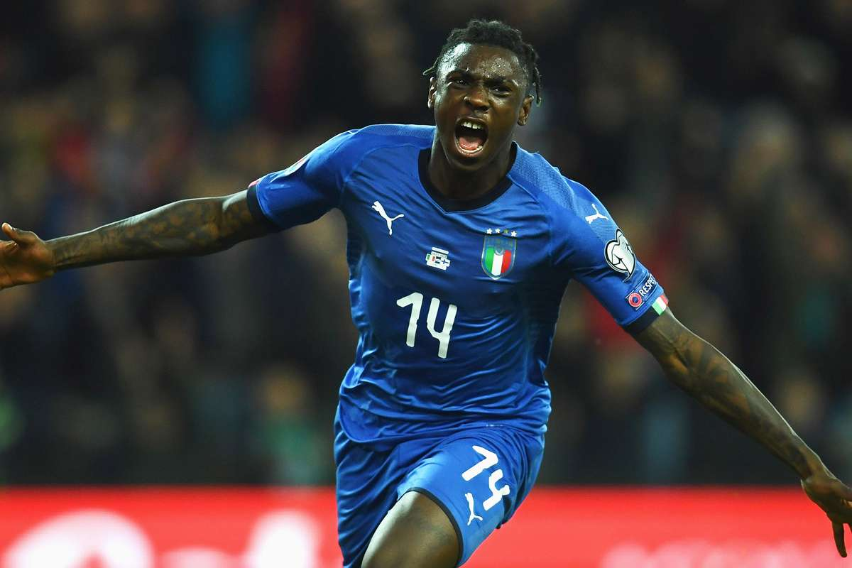Moise Kean The Miracle Italy Have Been Praying For Goal Com