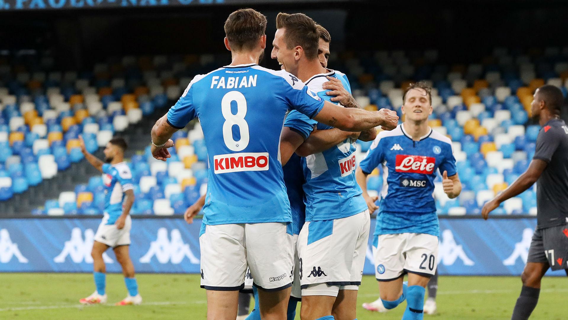 Var da record al San Paolo: annullati quattro gol al Sassuolo