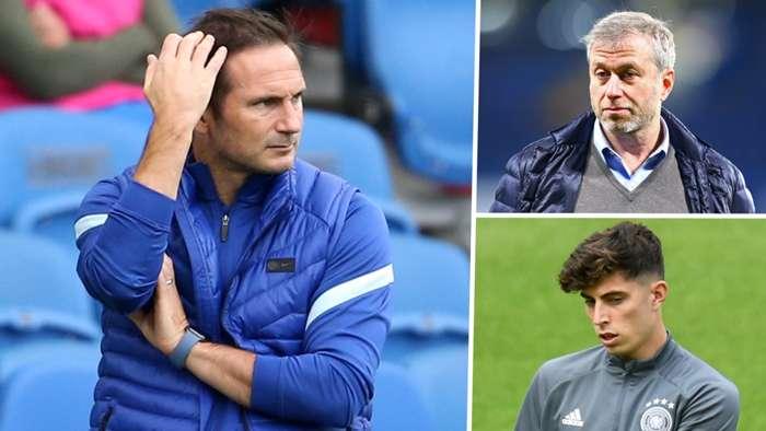 Frank Lampard Abramovich Havertz Chelsea GFX