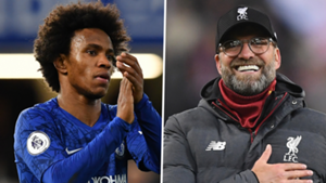 Willian Chelsea Jurgen Klopp Liverpool 2019-20