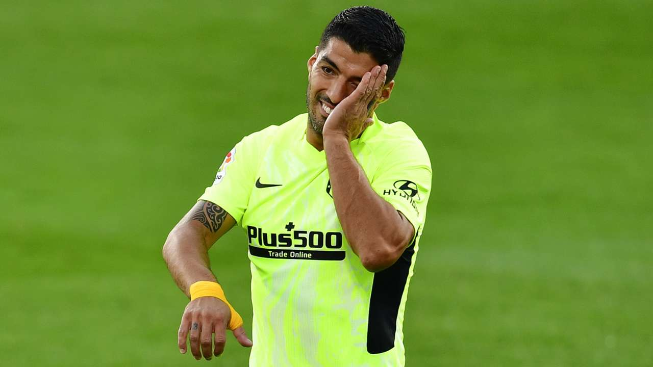 Luis Suarez, Atletico Madrid away, La Liga 2020-21