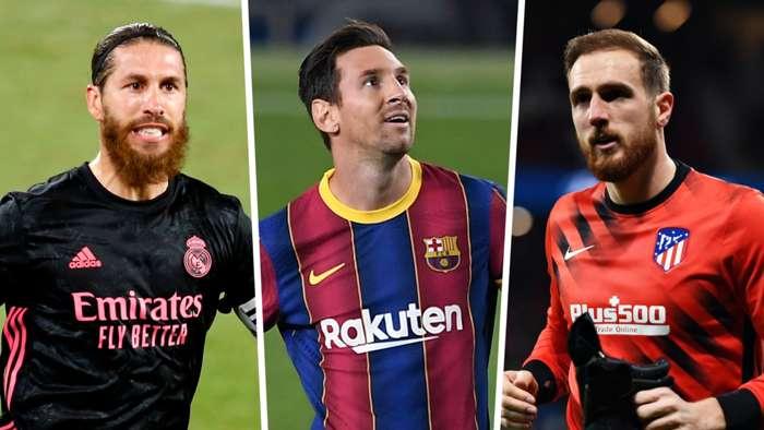 Ramos/Messi/Oblak