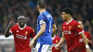 Sadio Mane Dominic Solanke Liverpool Everton