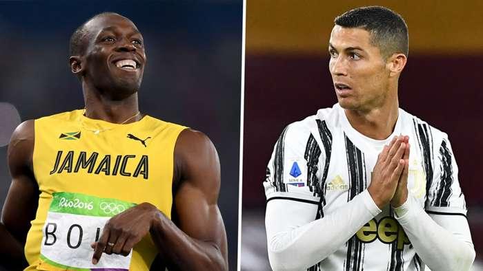 Usain Bolt Cristiano Ronaldo