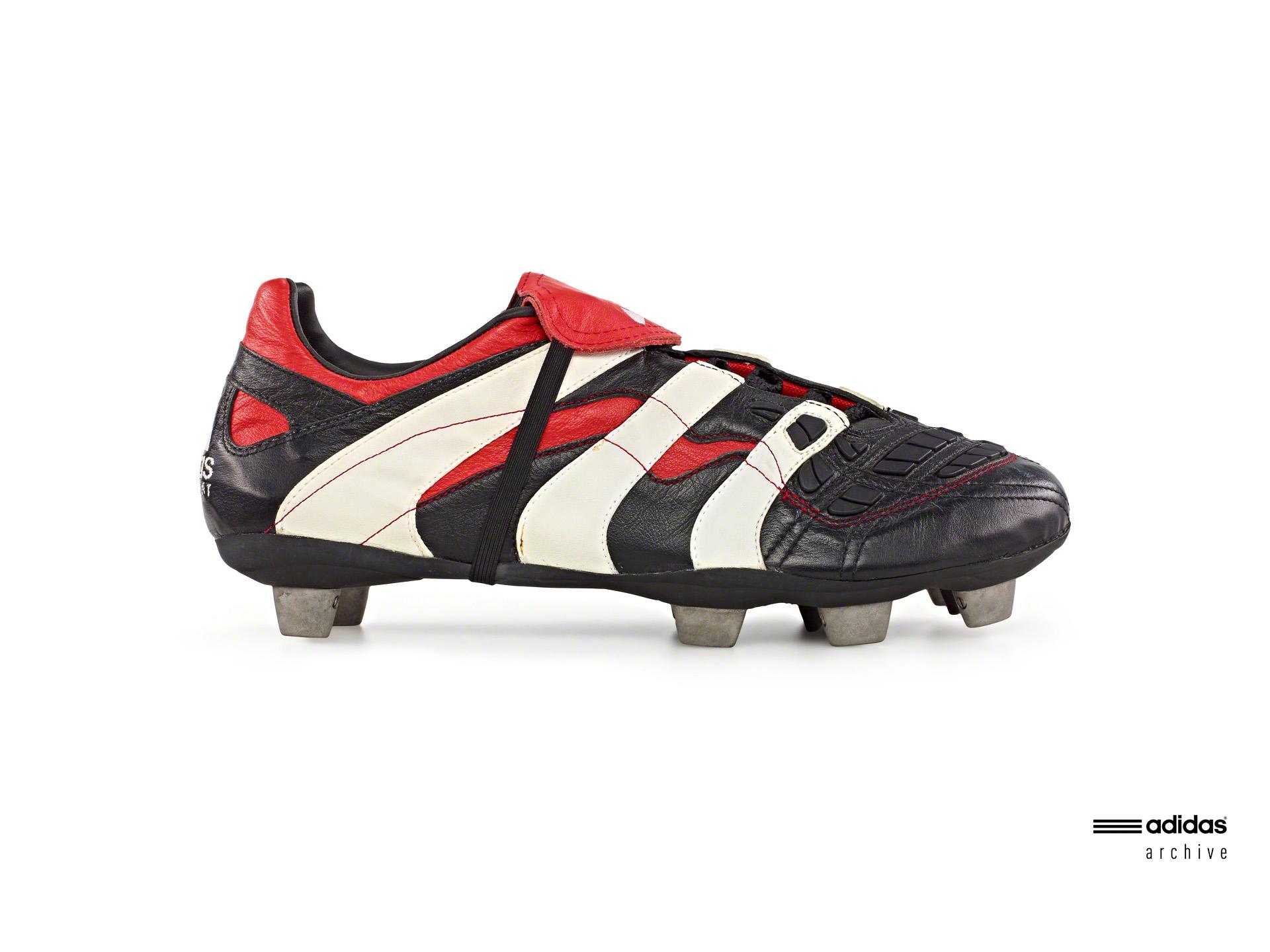 Megalópolis Máquina de escribir explosión  Adidas Predator: Every edition of the world-famous boot | Goal.com