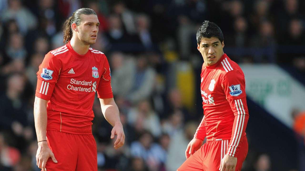 Andy Carroll Luis Suarez Liverpool