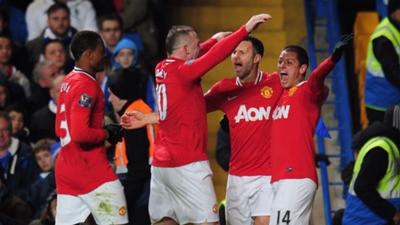 Manchester United Chelsea 2011-12 Premier League