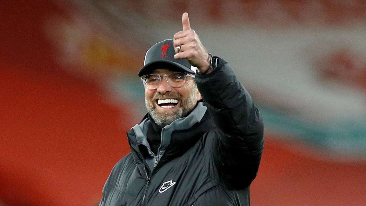 Jurgen Klopp Liverpool 2020-21
