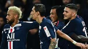 Neymar,Di María, Mbappé, Icardi PSG 09 01 2019