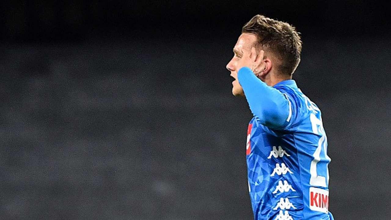 Piotr Zielinski SSC Napoli Serie A