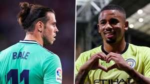 Gareth Bale, Gabriel Jesus