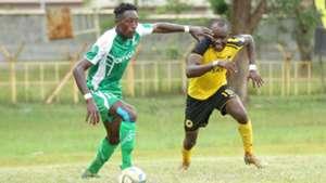 Martin Werunga of SOny Sugar and Timothy Otieno of Tusker.