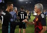 超级杯C罗和穆里尼奥握手