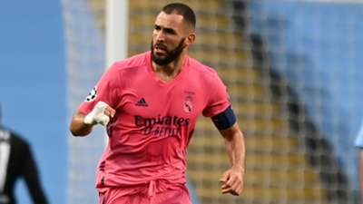 Benzema Real Madrid Manchester CIty 2020