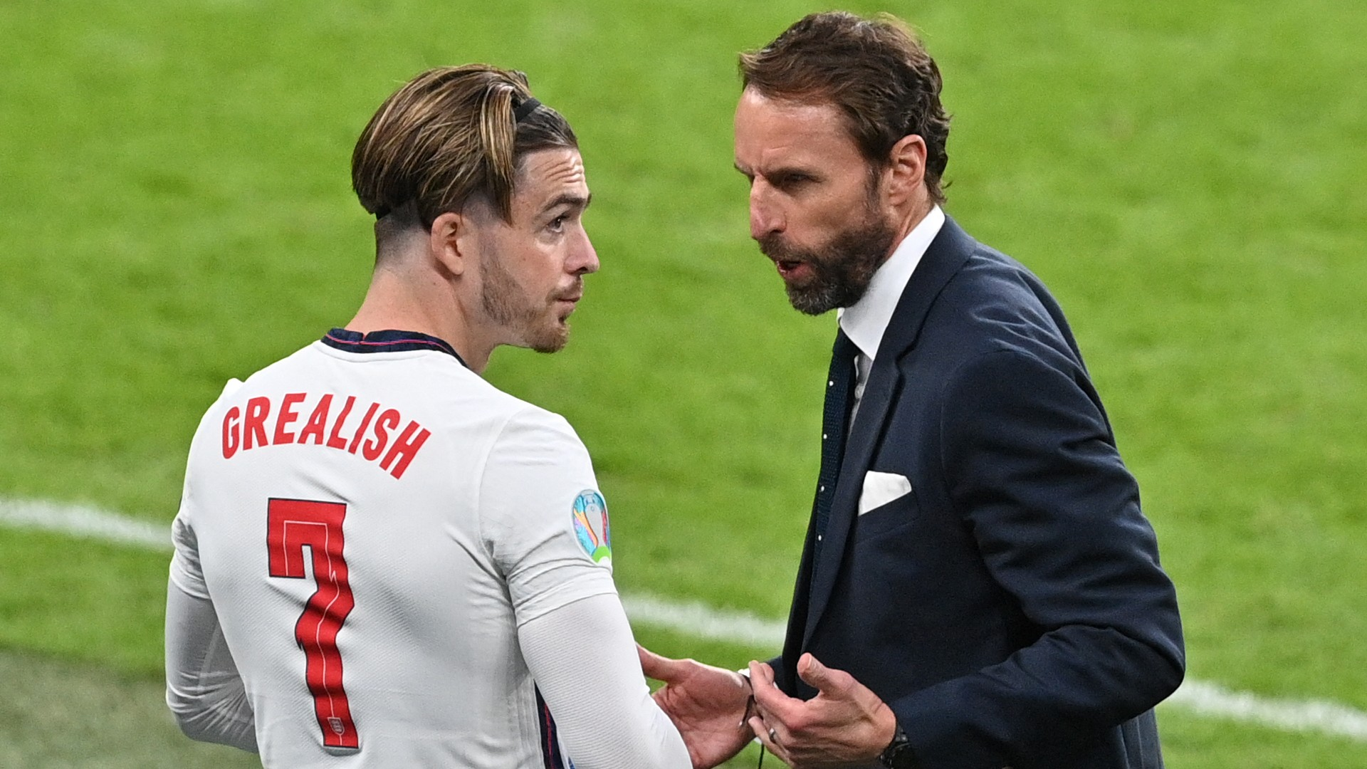 Southgate explains subbing Grealish on and off in England Euro 2020 semi-final win over Denmark