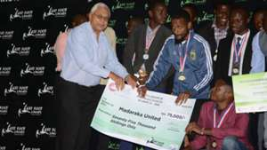 Madaraka United feted Left Foot league.