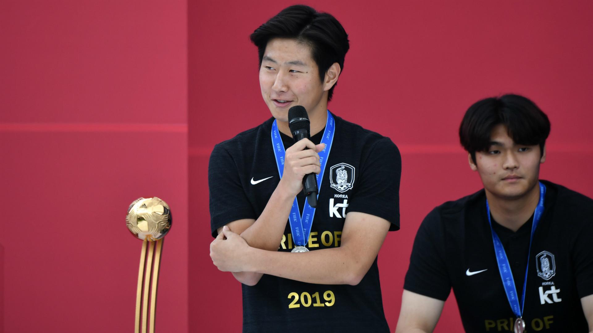 Lee Kang-in South Korea 2019