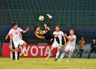 Malaysia U19 vs Tajikistan U19, AFC U19 Championship, 23102018