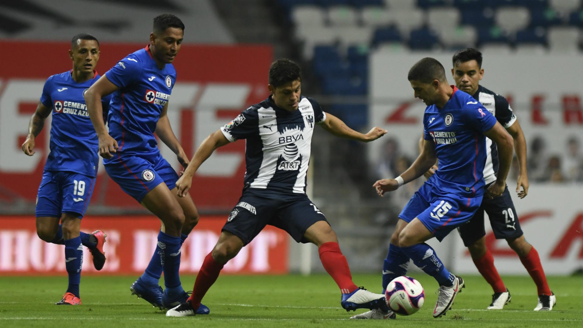 Monterrey 1-0 Cruz Azul en vivo por el Guardianes 2020: partido,  alineaciones y suplentes | Goal.com