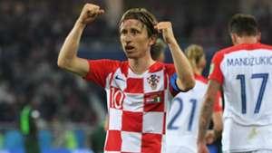 Luka Modric Croatia Nigeria World Cup 2018