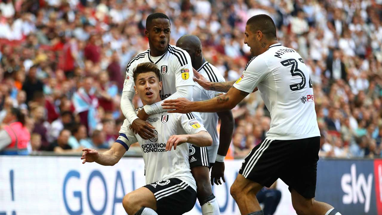 Tom Cairney Aston Villa Fulham Championship play-off final 260518