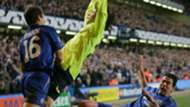 Lionel Messi Asier del Horno Chelsea Barcelona 2006
