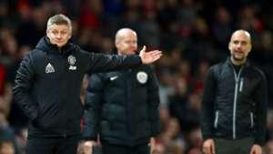 Ole Gunnar Solskjaer Pep Guardiola Manchester United Manchester City 2019-20