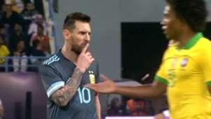 Messi Argentina Brazil Friendly Match 2019