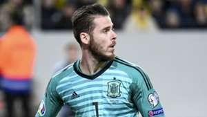 Blow for Man Utd as De Gea limps out of Spain qualifier