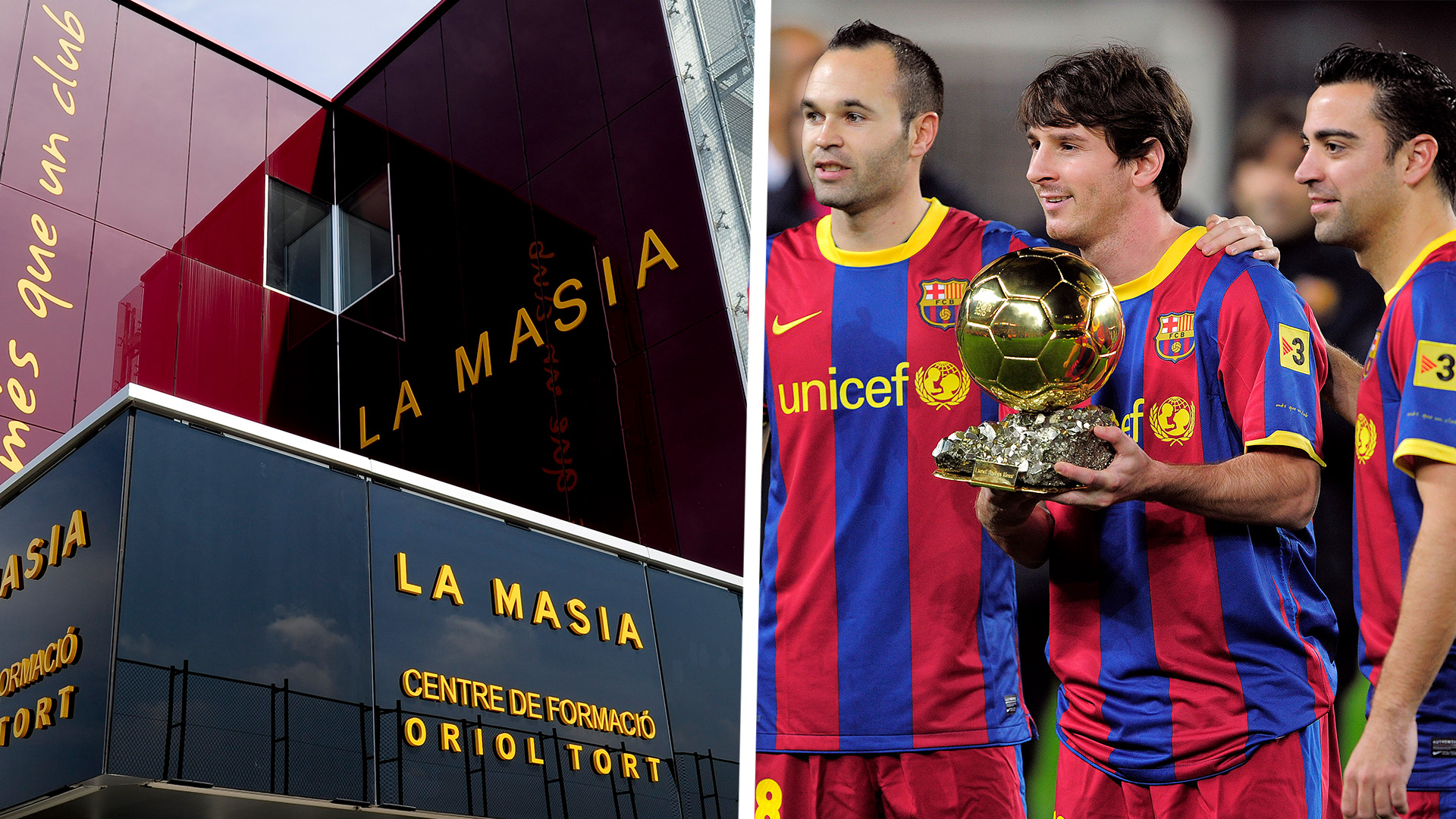 Image result for la masia lionel messi
