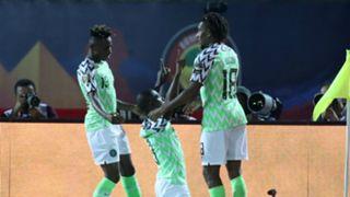 Chuekwueze, Iwobi and Ighalo - Nigeria