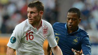 Milner Evra France England