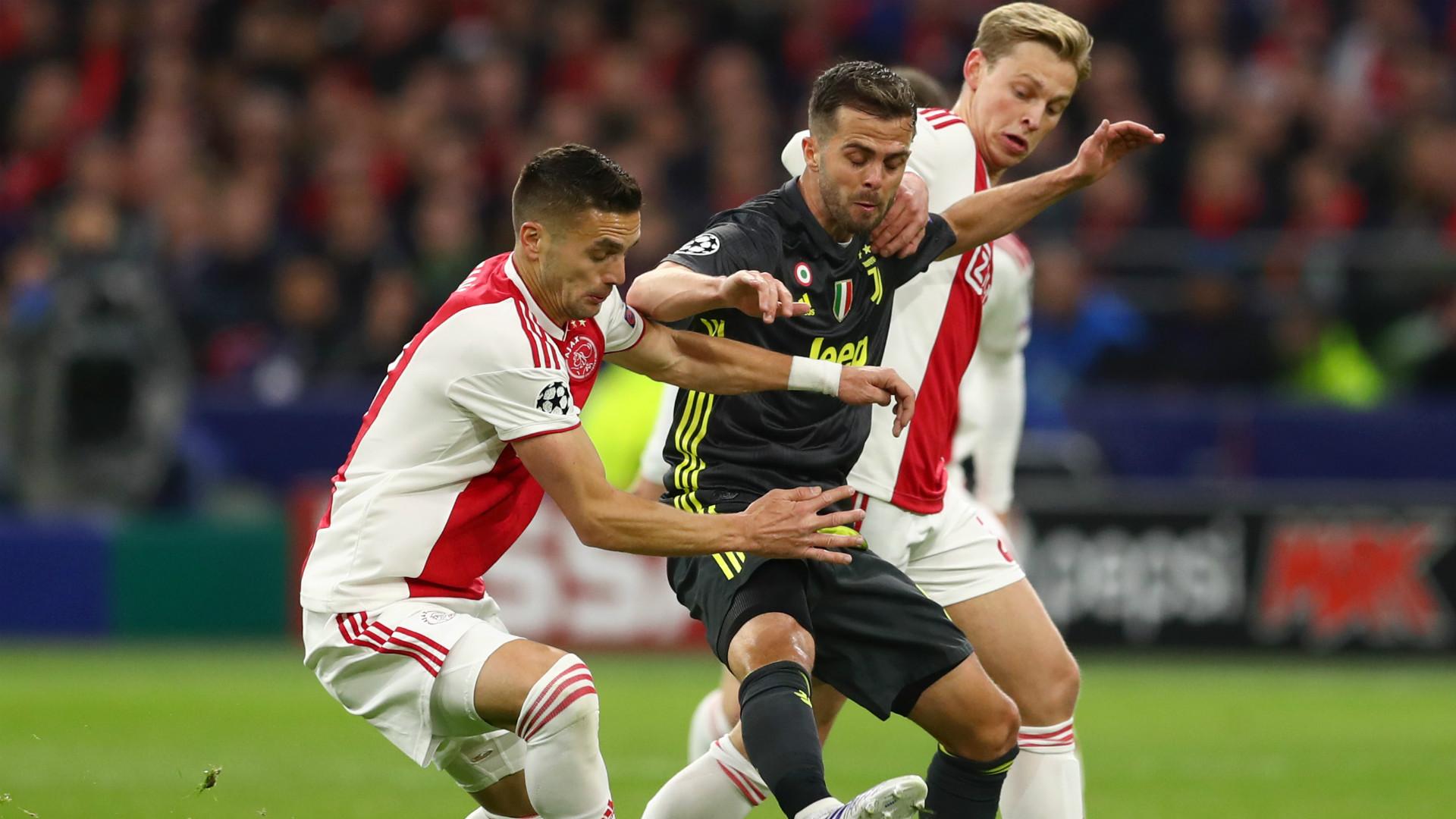 Ajax Juventus Tadic Pjanic De Jong