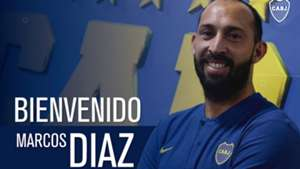 Marcos Diaz oficial Boca Juniors