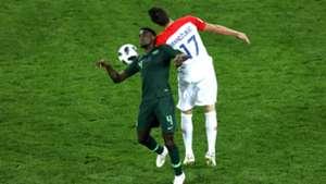 Croatia vs. Nigeria - Wilfred Ndidi, Mario Mandzukic