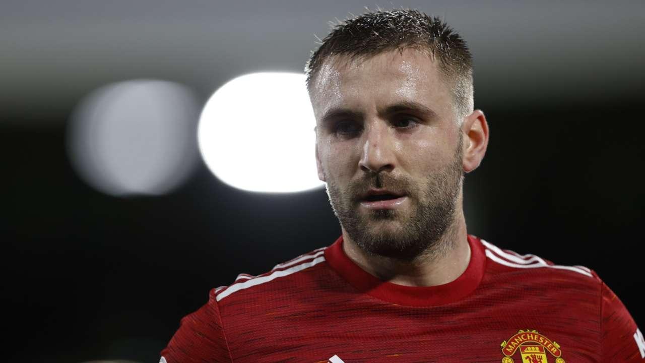 Luke Shaw Manchester United 2020-21