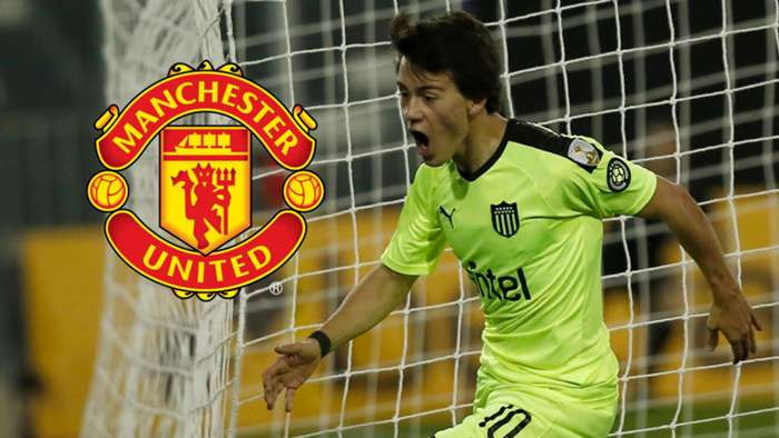 Facundo Pellistri Manchester United GFX