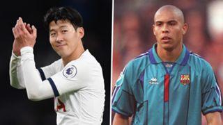 Heung-min Son Tottenham Ronaldo Barcelona